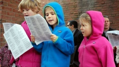 Bring your Voice! Bake Some Cookies! Caroling in the Courtyard, Sunday Dec 8th