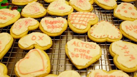 Bach-Around-the-Clock Cookie Reception