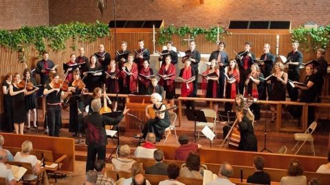 Canto Armonico Presents Vespers Service as Part of Early Music Festival