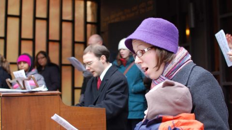 Carols fill the Back Bay! Photos Here