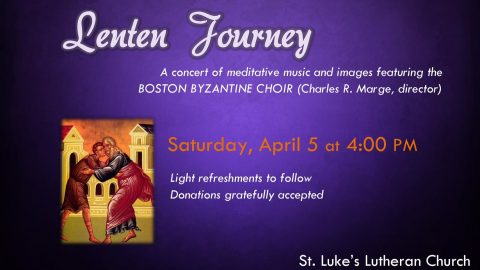 The Boston Byzantine Choir at St. Luke's Dedham