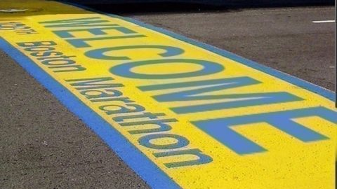 Boston Marathon 2018 Welcome