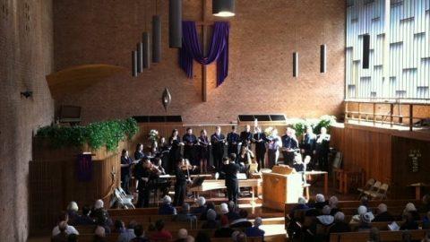 Hear the First Lutheran Church Choir at Boston Bach Birthday 329