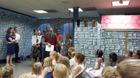 Jesus is with us in the Busy City: Vacation Bible School 2015