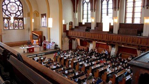 Partners celebrate 'resurrections' of congregation, historic church