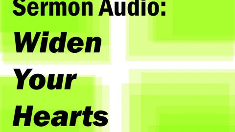Semon Audio: Widen Your Hearts