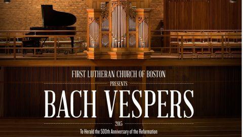 Bach Vespers Bulletin