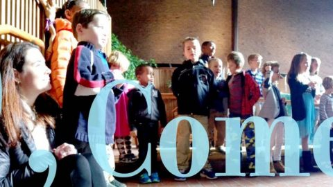 Children invited to sing O Come, O Come, Emmanuel Sunday, December 13, 2015