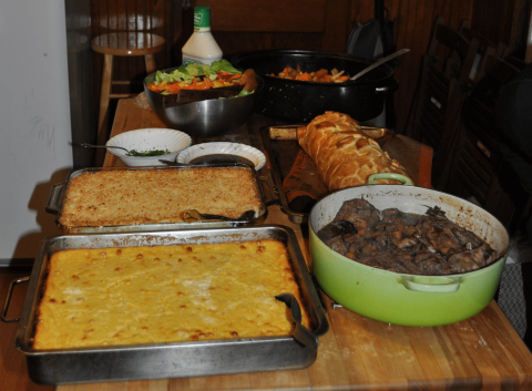 May Voters' Meeting and Potluck