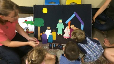 Shining in Faith: Children's Sunday School