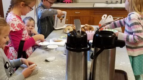 Generosity in Action: Bagel Ministry