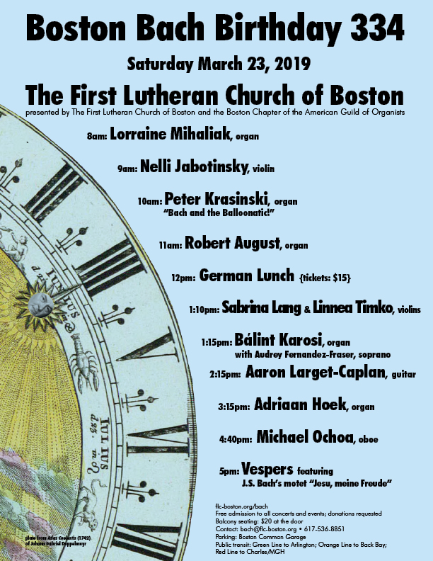 Music Ministry – The First Lutheran Church of Boston